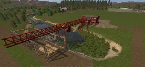 Farming Simulator 2017 скачать мод Карта CANADIAN AGRICULTURE MAP