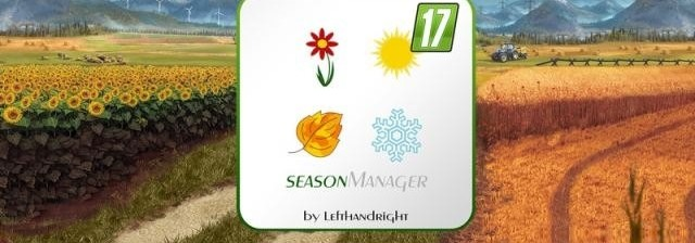 Мод Скрипт Season Manager v 0.6 для Farming Simulator 2017