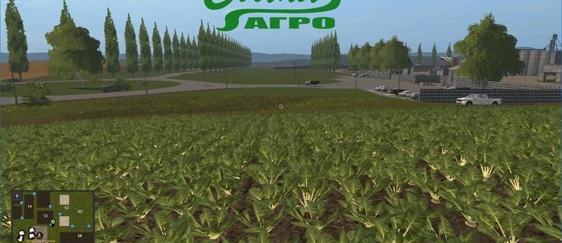 Мод Карта СВАПА Агро v Beta для Farming Simulator 2017