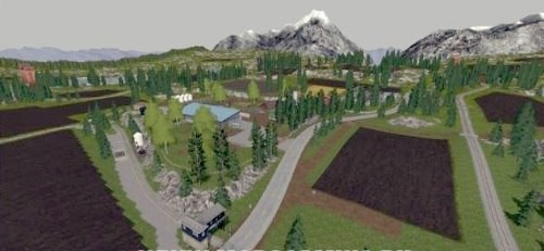 Farming Simulator 2017 скачать мод Карта Rocky Mountains v 1.4.1
