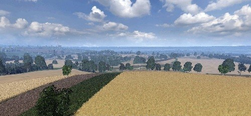 Farming Simulator 2017 скачать мод Карта BIG POLAND REAL MAP
