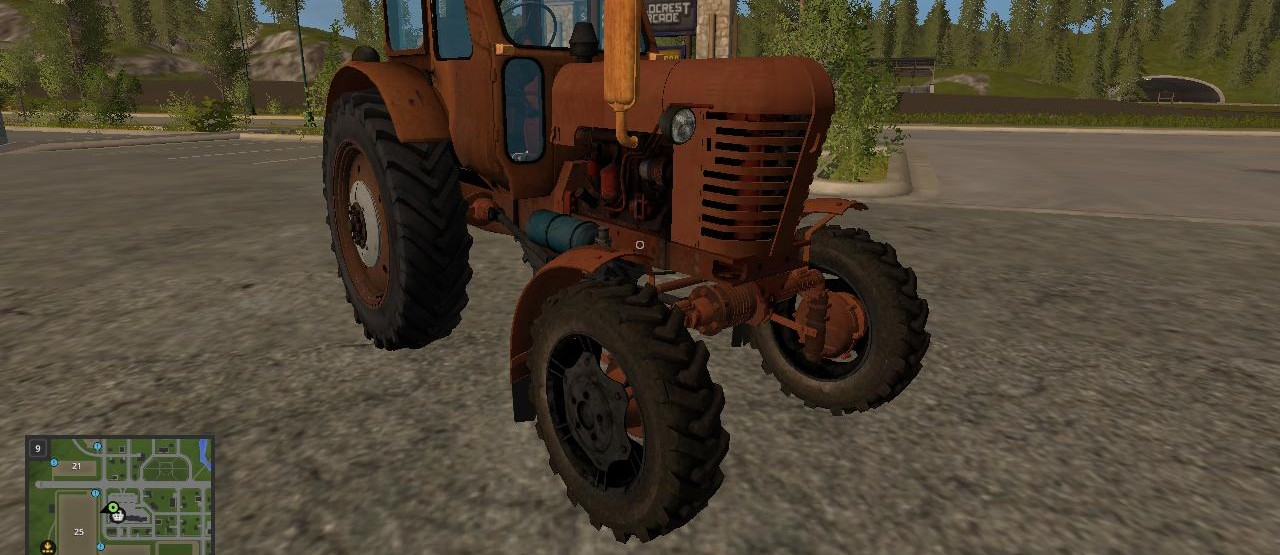 Мод Трактор МТЗ 52 v 1.0 для Farming Simulator 2017