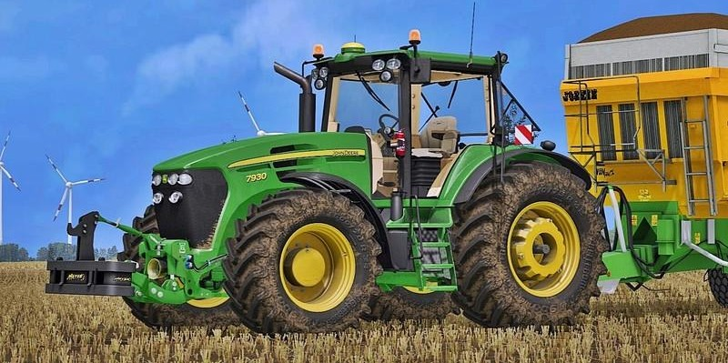 Мод John Deere 7030 Serie v 1.0 для Farming Simulator 2017